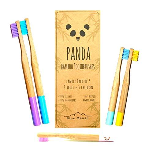 Panda cepillos dientes   cepillos dientes bambú natural