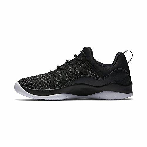 Nike Mädchen Jordan Deca Fly Gg Basketballschuhe Schwarz / Weiß