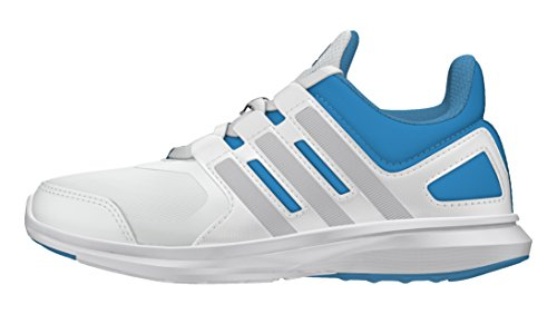 adidas - Hyperfast 2.0 K, Sneaker Bambino Bianco/Blu