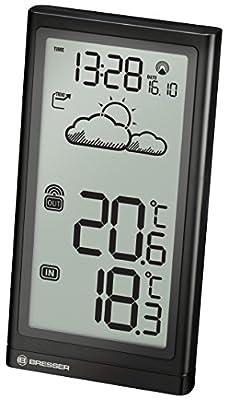 Bresser Wetterstation Meteo Temp mit Wettertrend, Funkuhr und Außensensor von Bresser - Du und dein Garten