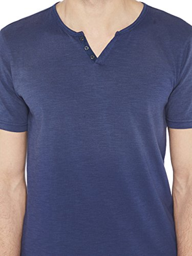 Colorado Denim Herren T-Shirt Vilho Blau (Mood Indigo 6078 )