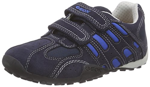 Geox JR SNAKE BOY B, Jungen Sneakers, Blau (NAVY/ROYALC4226), 27 EU