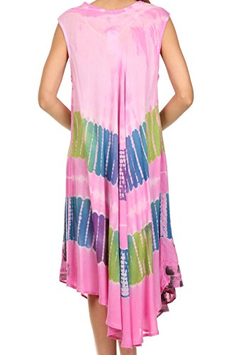 Tank Dress Caftan Sakkas Tasanee / Cover Up Rose