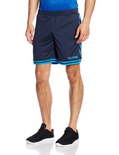 Hummel Herren Sirius Shorts, Total Eclipse/Methyl Blue, XL, 10-797-1618