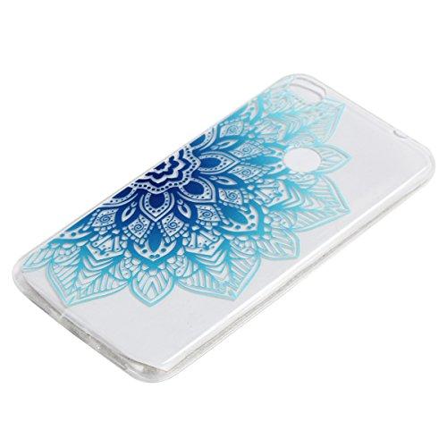 P8 Lite 2017 Funda  SsHhUu Hybrid Totem Light Weight Flexible Durable Transparent Ultra Slim Soft TPU Gel Silicone Protective Rear Skin Cover Funda pa
