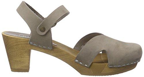 Sanita  Matrix Square Flex Sandal, Sandales ouvertes femme Gris - Grau (Grey 20)
