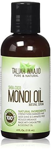 Taliah Waajid - Taliah Waajid Huile De Monoï 118,3ml Naturel