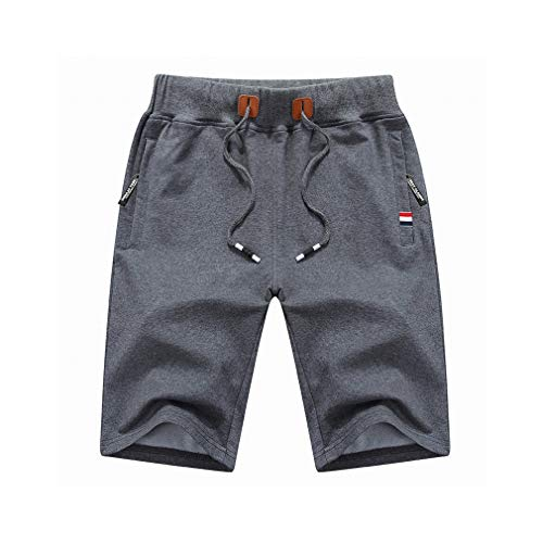 2019 Men's Summer Beach Cotton Casual Male Shorts Homme
