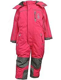 Outburst - Mädchen Schneeoverall Overall 10.000 mm Wassersäule, Pink - 3711919