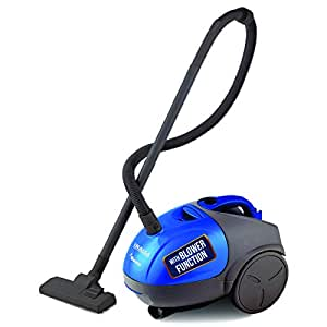 INALSA Vacuum Cleaner Gusto-1000W with Blower Function and 1.5L Reusable Cloth Dust Bag, Powerful 16KPA Suction, Lightweight & Compact, (Blue/Grey)