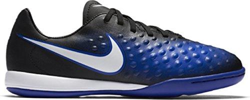 Nike Jungen 844422-015 Hallenfußballschuhe Schwarz