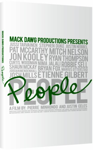 Mack Dawg People Snowboard DVD by Ally Distribution Mack Snowboard