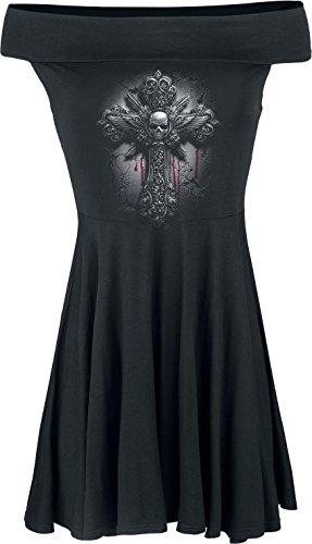 Spiral -  Vestito  - Donna nero S
