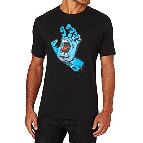 Santa Cruz Herren T-Shirt Screaming Hand Black