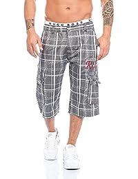 Herren Shorts Dehnbund Bermuda Kurze Hose Stretch Verschiedene Farben ID186