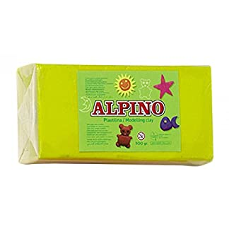 Alpino DP000069 – Plastilina, color amarillo