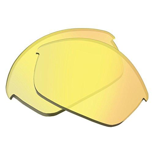 Oakley Gläser FLAK JACKET 13-770 HI YELLOW IRIDIUM Original Ersatzscheiben für Sonnenbrille