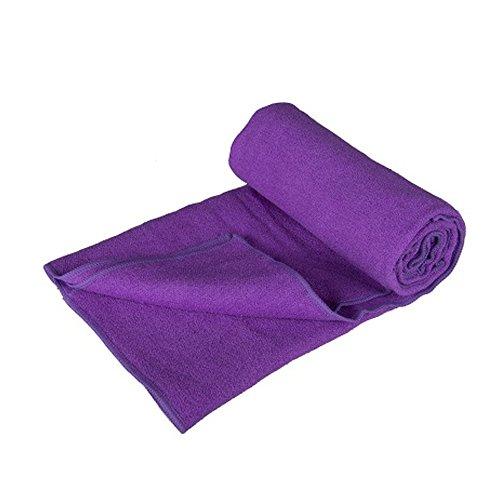 Tri-polar fibra Superfine Skid antibatterico Yoga Mat tovagliolo del sudore,