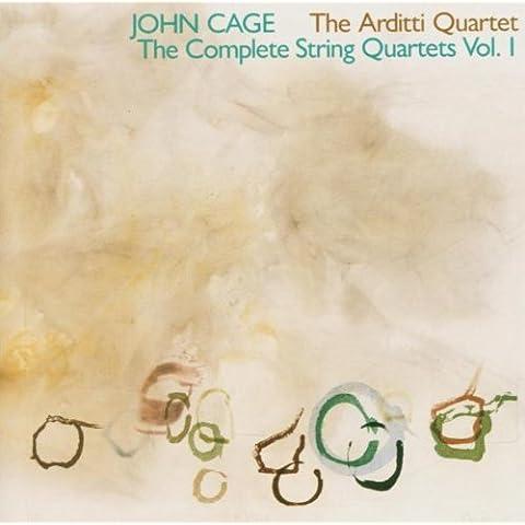 Cage Edition, vol. 3 : Quatuors à cordes I. Arditti.