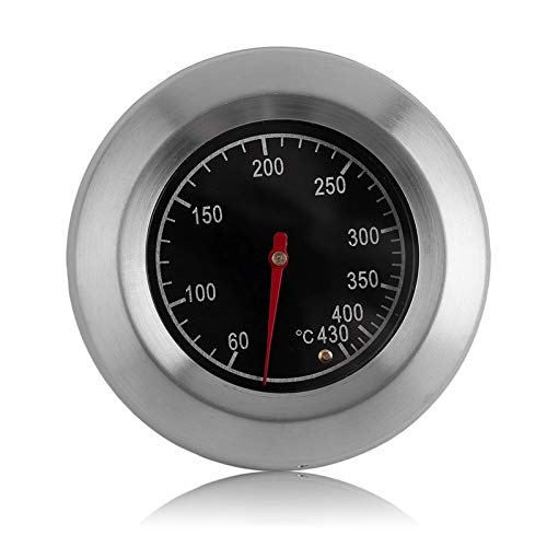 ZK1684300 Runde Edelstahl Ofen Lebensmittel Kochen Backen Doppel Metall Thermometer Haushalt Temperaturanzeige 60-430 Grad Celsius