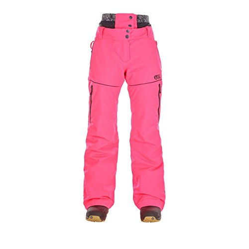 Picture Organic Clothing Damen Schneehose Exa Pant, Rosa (Neon Pink), S