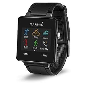 Garmin Vívoactive Smartwatch GPS con Monitoraggio attività e Profili Sport, Standalone, Nero
