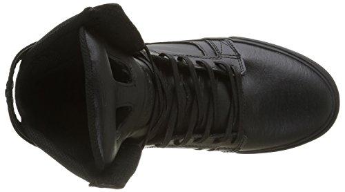 Supra Skytop Ii, Baskets Basses Homme Noir (Black/Black Red)