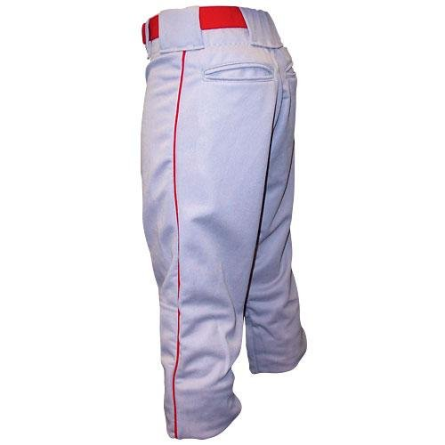 Alleson Baseball Hose mit Rohrleitungen-Erwachsene, Jungen, Grey/Royal, Medium -
