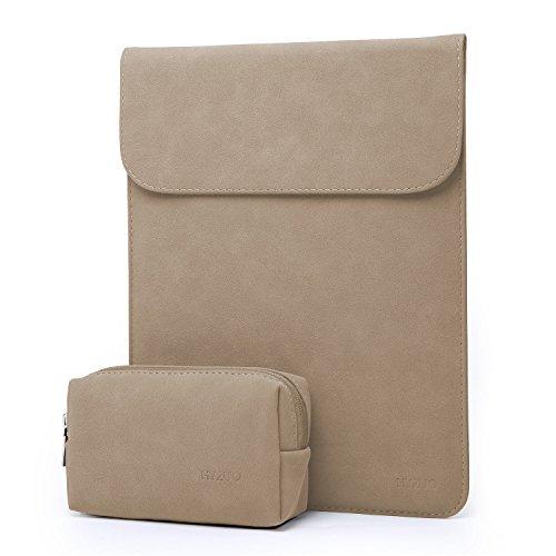 HYZUO 13-13,3 Zoll Laptop Hülle Tasche wasserdichte Laptophülle Compatibel mit 13,3 Alt MacBook Air/MacBook Pro 2012-2015/12,9 iPad Pro/Hp Spectre x360 13 Laptoptasche mit kleine Tragetasche