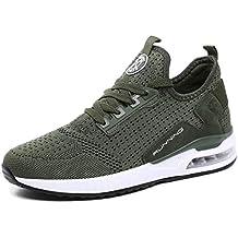 tqgold® Unisex Uomo Donna Scarpe da Ginnastica Corsa Sportive Sneakers  Running Basse Basket Sport Outdoor d2335385f51