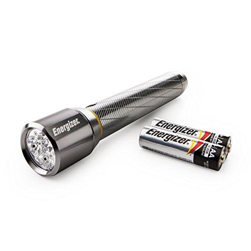Energizer Performance Metall LED Taschenlampe mit Digital Focus & HD Optik 2aa Energizer