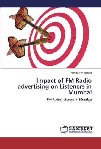 Impact of FM Radio advertising on Listeners in Mumbai: FM Radio listeners in Mumbai -