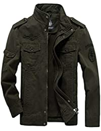 Allentata Uniforms Jeep Air Uomo One Giacca Force Norwayes Cotton Casual Da Outdoor army 4pfwgqZZ