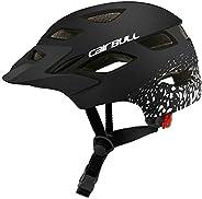 Decdeal Kids Bike Helmets Lightweight Cycling Skating Sport Helmet with Safety Light for Boys Girls