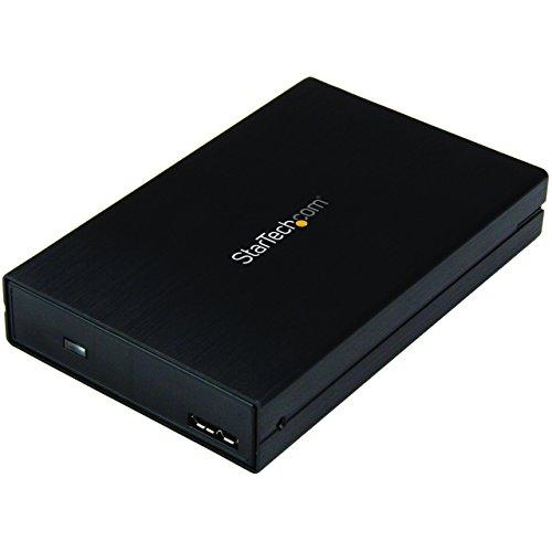 """StarTech.com S251BU31315 - Caja USB 3.1 para Unidades de Disco Duro SATA de 2.5"""", Color Negro"""