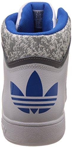 adidas Herren Varial Mid Laufschuhe Weiß (Ftwr White/grey/bluebird)