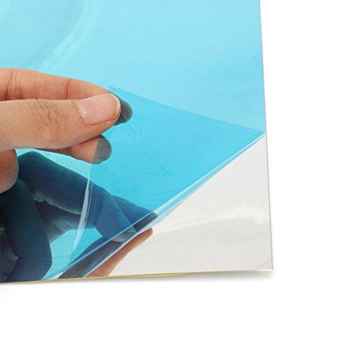 ExcLent 40 Stücke Spiegel Pvc Wand Quadrat Aufkleber Dekor Selbstklebende Dekoration 15 * 15 Cm -
