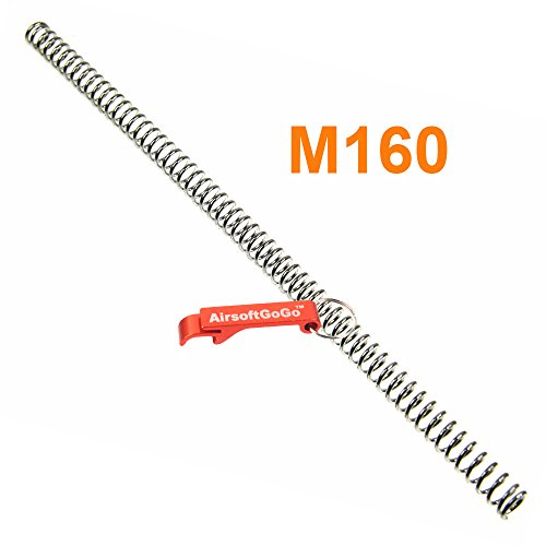 Army Force M160 Feder für Marui/WELL L96 Softair Bolt Action - AirsoftGoGo Schlüsselanhänger Inklusive
