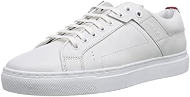 HUGO Corynna 10180669 01, Damen Sneakers, Weiß (White 100), 36 EU (3 Damen UK)