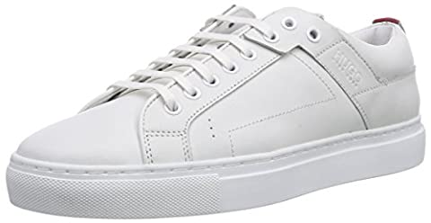 HUGO Corynna 10180669 01, Damen Sneakers, Weiß (White 100), 40 EU (7 Damen UK)