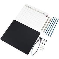 bvggfhcvbcgvh AC006 LED BDM Frame con malla 4 sondas Plumas de juego completo Juego en placa de la ECU Programador modificado Conectar los cables para la unidad de una pieza (color: marrón)