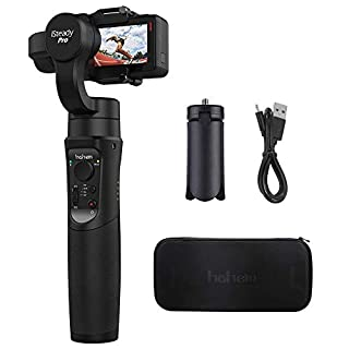 Hohem iSteady Pro 3-Axis Handheld Gimbal Stabilizer, APP Controls for Auto Panoramas,12h Run-Time, Time-Lapse & Tracking for Gopro Hero 6/5/4/3, Yi Cam 4K, AEE, SJCAM Sports Cams (iSteady Pro)