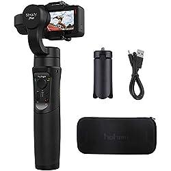 Hohem iSteady Pro Estabilizador de cardán Controles de aplicación para panoramas automáticos,Time-Lapse y Seguimiento para Gopro Hero 6/5/4/3, Yi CAM 4K, AEE, SJCAM Sports Cams