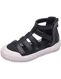 Shoes Sandalias Casuales para niños Zapatos de Princesa, Zapatos Suaves para Caminar al Aire Libre para niñas, Zapatillas Ligeras Antideslizantes, adecuadas para Estudiantes/Adolescentes/niños