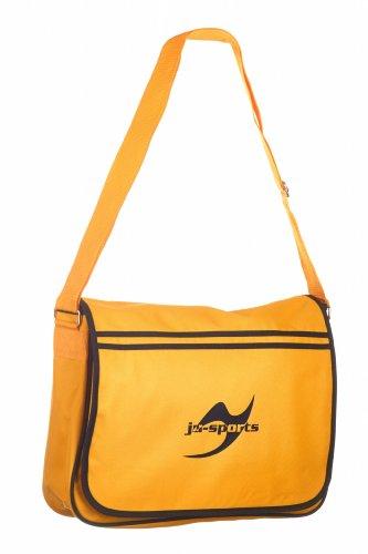 Retro Messenger Bag gold/schwarz Ju-Sports