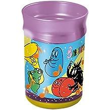 Bicchiere Barbapapa Disney vetro plastica bambino Doppia Parete