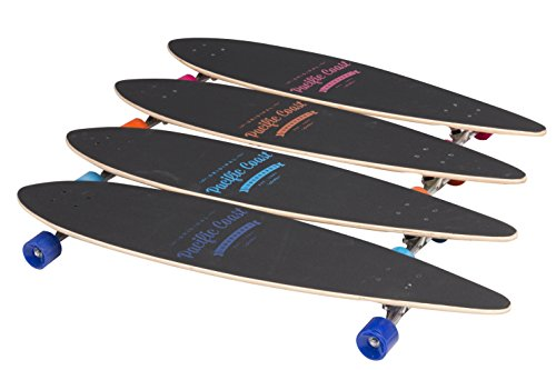 Monopatines Longboard Skateboard la Tabla Completa ABEC 7 Tabla de Surf 112cm 44 Pulgadas D24