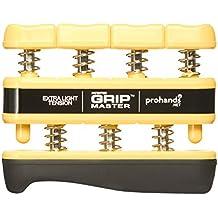 prohands by Gripmaster medical - Aparato entrenador de dedos, color amarillo, resistencia 3 lbs