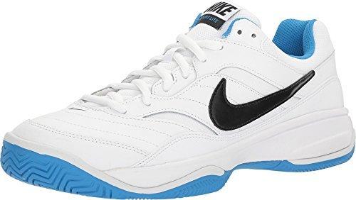 Nike , Herren Tennisschuhe 104 White Black