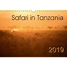 Safari in Tanzania (Wall Calendar 2019 DIN A4 Landscape): Animals and landscapes of southern Tanzania (Monthly calendar, 14 pages ) (Calvendo Nature)